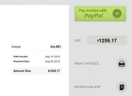 Accept credit card payments for invoices